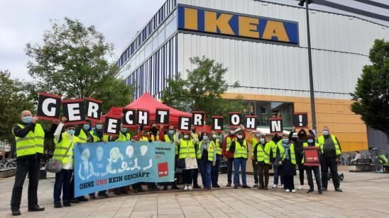 Streik bei IKEA Hamburg und bundesweit